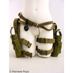 Leg holsters from resident evil These would be so handy after the zombie apocalypse!