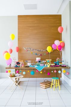 Festa infantil Picnic linda e original por Festa de Brincar - www.kikidsparty.com.br