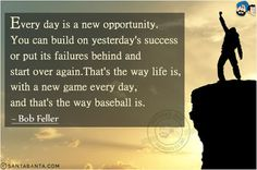 quotes about missing opportunities for love New Opportunity Quotes, Bob Feller, Starting Over Again, Missing Quotes, Thats The Way, New Opportunities, News Games, Inspirational Quotes, Success
