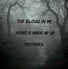 "5sos lyrics - jet black heart - ""The blood in my veins is made up of mistakes"""