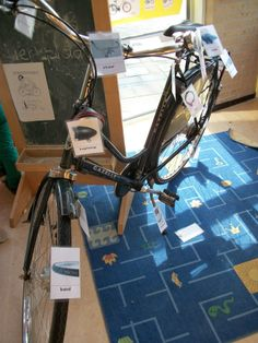 De fiets van de juf! Labelen