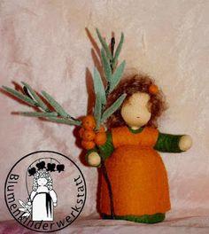 Sanddorn Blumenkinderwerkstatt - Blumenkinder für den Jahreszeitentisch