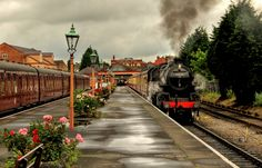 Kidderminster Town Station - Severn Valley Railway 13.07.2012. | by KPAR Media UK