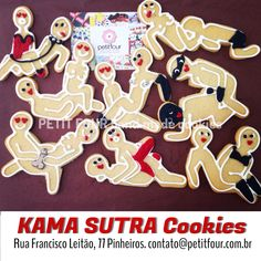Kama Sutra decorated cookies.