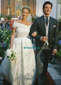 Laura Vecino: El vestido de la novia en Hola