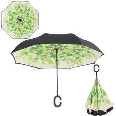 Custom Cute Wild Dog Cubs Compact Travel Windproof Rainproof Foldable Umbrella