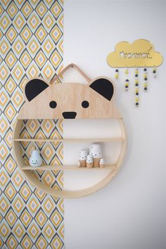 Moma - DIY shelves for kids room!