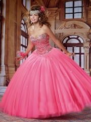 Wholesale new sweet 15 dress pink satin tulle beaded crystal quinceanera ball gown S15-4492 http://www.topdesignbridal.net/wholesale-new-sweet-15-dress-pink-satin-tulle-beaded-crystal-quinceanera-ball-gown-s15-4492_p4512.html