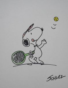 Snoopy tennis                                                                                                                                                                                 More