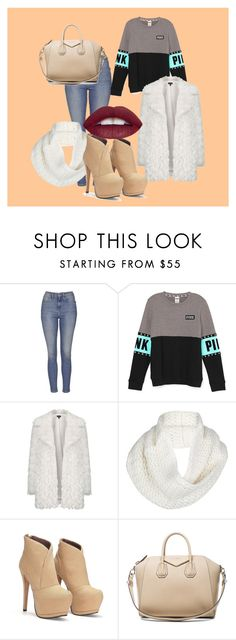 """""""WInter Outfit"""" by dzenita-219 on Polyvore featuring Topshop, UGG Australia, Givenchy, women's clothing, women's fashion, women, female, woman, misses and juniors"""