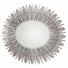 """Prescott Large Oval Mirror (can be turned other way) - Arteriors - $1470 - 40.5""""H x 34""""W x 1.5""""D"""