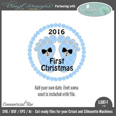 - Baby's First Christmas Boy Version. Sold By Lyrical Letters DesignSmall business commercial useAvailable in SVG, DXF, EPS and Ai formats.Works in Cricut Design space andSilhouette Studio Basic,Silhouette Designer Edition andSilhouette Business Edition Lettering Design, Hand Lettering, Font Names, Silhouette Machine, Babies First Christmas, Silhouette Designer Edition, Cricut Design, Design Bundles, Lyrics