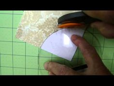 Sewing Curves, Drunkards Path - YouTube. A good explanation of the unassisted way to sew curves. myb