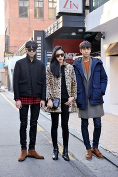Streetstyle: Joo Woojae, Choi Sora and Lee Cheolwoo shot by Choi Seungjum