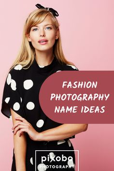 What would be a great name for a fashion photography studio? Here you can find out some fashion photography name ideas for your photography business. #fashionphotography #fashionphotographyideas #photographybusiness Bohemian Photography, Photography Names, Photography Courses, Artistic Photography, Photography Tutorials, Creative Photography, Amazing Photography, Fashion Photography, Freelance Photography