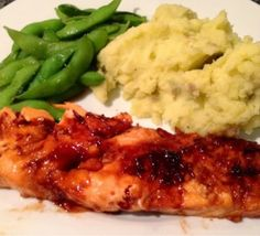 Fish that doesn't taste like fish? Sign me up! Joyful Bellies: Asian Glazed Salmon