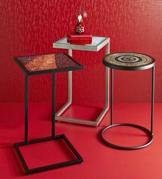 Pier 1 C-Tables are stylish and versatile. I can use as cake stands/tables