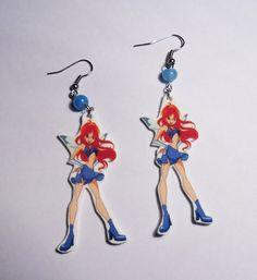Winx Club earrings! :)