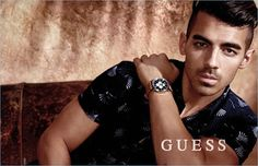 Europe Fashion Men's And Women Wears......: JOE JONAS SNAGS ANOTHER GUESS CAMPAIGN, STARS IN W...