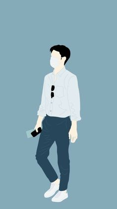 16 ideas for art drawings girl korean People Illustration, Character Illustration, Illustration Art, Cover Wattpad, Exo Stickers, Dibujos Anime Chibi, Cover Boy, Exo Fan Art, Cartoon Man