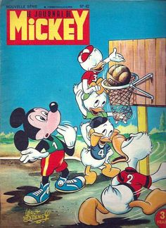 Cover for Le Journal de Mickey (Disney Hachette Presse, 1952 series) #42
