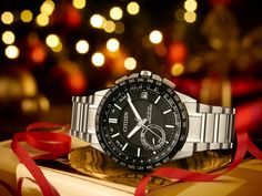 A gift of style & technology with the Satellite Wave World Time GPS Watch from Citizen.