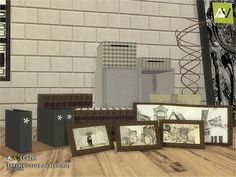 Expexit Office Accessories by ArtVitalex at TSR • Sims 4 Updates