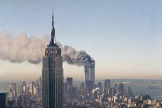 Yahoo News photographer Gordon Donovan visits lower Manhattan to shoot the exact…