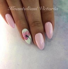 """If you're unfamiliar with nail trends and you hear the words """"coffin nails,"""" what comes to mind? It's not nails with coffins drawn on them. It's long nails with a square tip, and the look has. Nail Polish, Nail Manicure, Pink Nails, My Nails, Hair And Nails, Fabulous Nails, Perfect Nails, Nail Swag, Super Nails"""