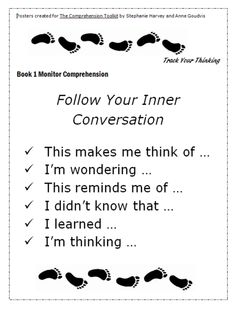 Free posters for Comprehension Toolkit Book 1 -like the post-it activity for students reading Reading Lessons, Reading Skills, Teaching Reading, Guided Reading, Close Reading, Learning, Fun Classroom Activities, Classroom Ideas, Classroom Signs
