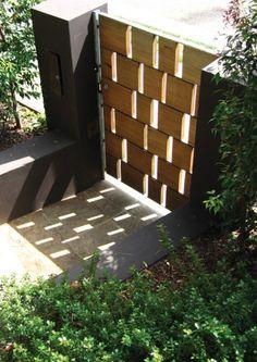 Stunning gate - great design idea>>>Terragram