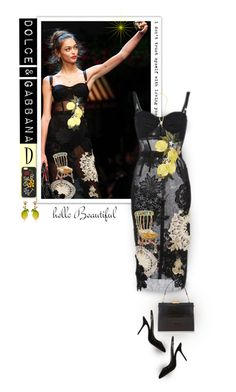 """Dolce & gabbana - Spring 2016"" by alves-nogueira ❤ liked on Polyvore featuring Trilogy and Dolce&Gabbana"
