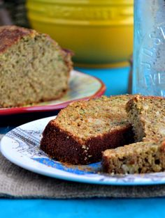 Cinnamon Zucchini Bread (Gluten-Free, Grain-Free, Dairy-Free, Soy-Free) from the healthy apple