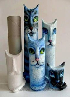 katte af køkkenruller