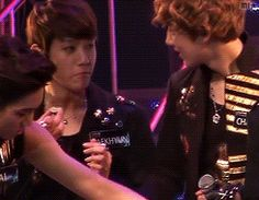 Baekhyun bite's into an invisible bacon sandwich, For some reason this makes Chanyeol nervous:)