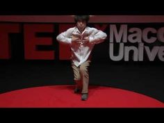 Incredible break dancer: BBoy Blond at TEDxMacquarieUniversity - YouTube