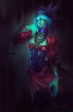 Death Prothet from #Dota2  by O-l-i-v-i.deviantart.com on @deviantART