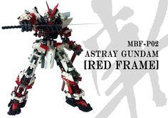 LEGO Build: Gundam Astray Red Frame - Gundam Kits Collection News and Reviews