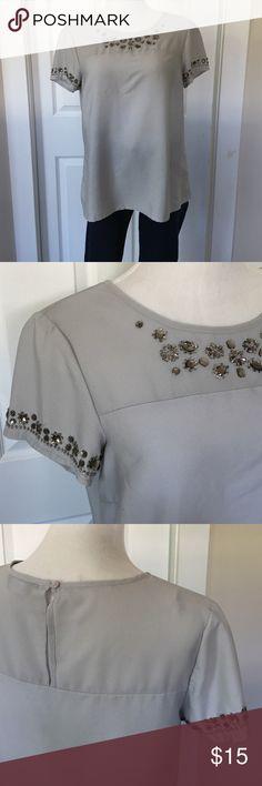 Dorothy Perkins Embellished Blouse Dorothy Perkins Embellished Blouse in perfect, like new condition. Only worn once. Dorothy Perkins Tops Blouses
