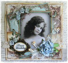 Tina`s Kreativblog: EAC-Blau/Braun