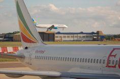 Ethiopian Airlines Boeing 757-200 ET-AKE