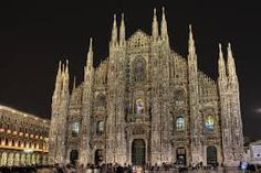 The Duomo (or Cathedral) in Milan is at the very center of the city and the Piazza del Duomo in front of the church is usually a busy place. Milan Cathedral, Gothic Cathedral, Cathedral Church, Barcelona Cathedral, Milan Italy Travel, Milan Duomo, Religion, Church Building, Northern Italy