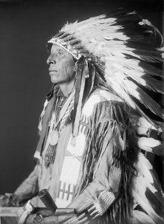 American Indians : Young Bear - Sicangu 1909. Lakota