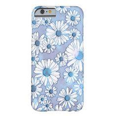 Blue Daisy iPhone 6 Case