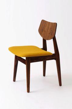 Jens Risom; #C275 Sidechair for Jens Risom Design, 1957.