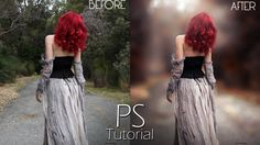 Photoshop Tutorial - Transform Normal Photo To Amazing Photo