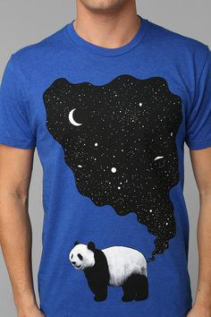 Riot Society Panda Space Fart Tee  Dude, this is so adorable. I just love it.