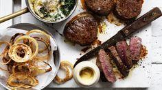 How do you improve on a good steak?