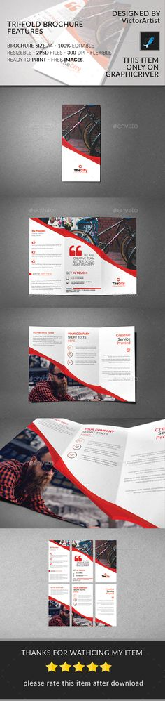 Business Bifold BrochureV  Brochures Business And Corporate