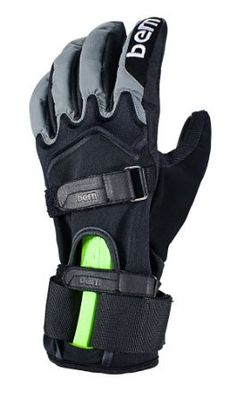 Bern Adult Adjustable Glove with Wrist Guard